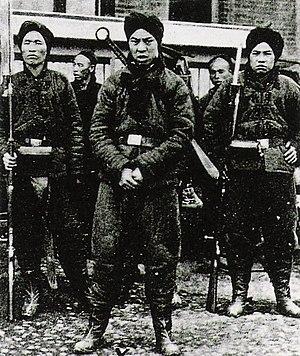 Soldados boxer