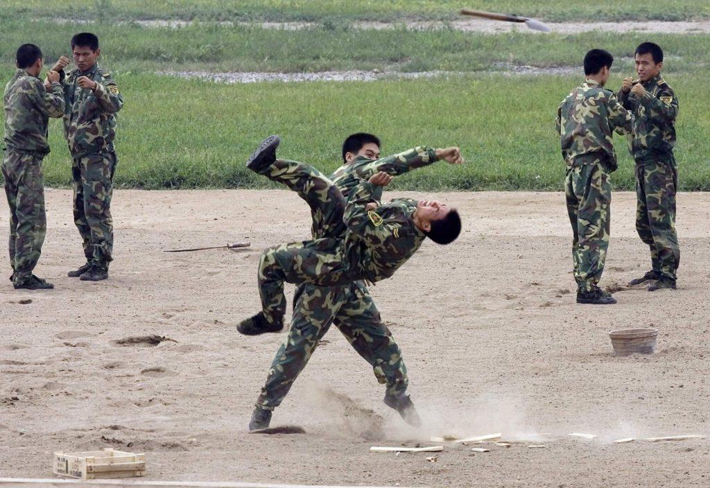 militares wushu