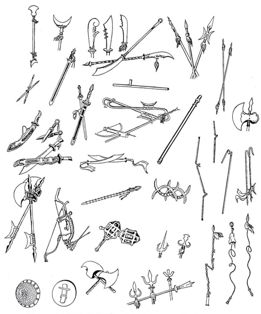 Las 18 armas del Wushu